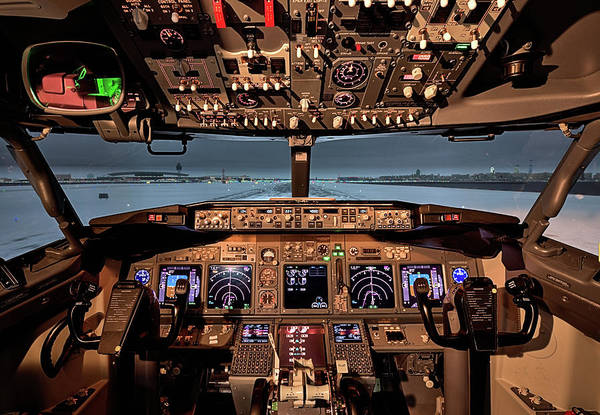 Wall Art - Photograph - The Flightdeck by JC Findley