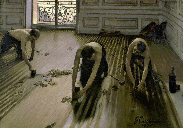 Wall Art - Painting - The Floor Planers - Digital Remastered Edition by Gustave Caillebotte