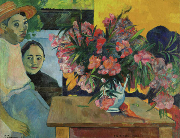 Wall Art - Painting - The Flowers Of France, 1891 by Paul Gauguin