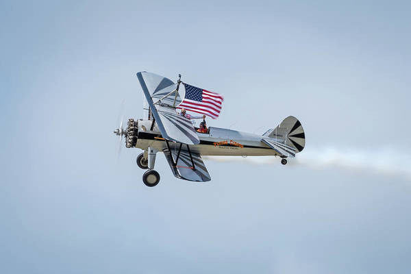 Photograph - The Flying Circus Flying Proud by Todd Henson