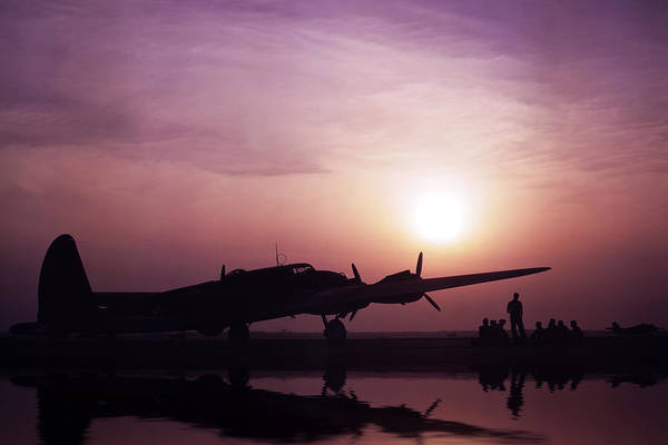Flying Fortress Photograph - The Flying Fortress 1942 by Aged Pixel