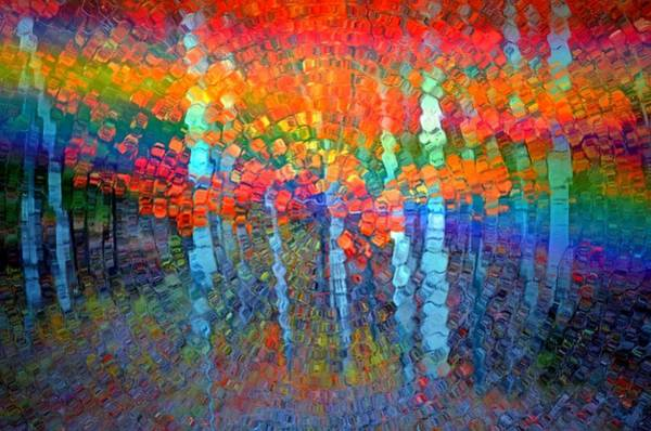 Photograph - The Forest Breathes In Colour by Tara Turner