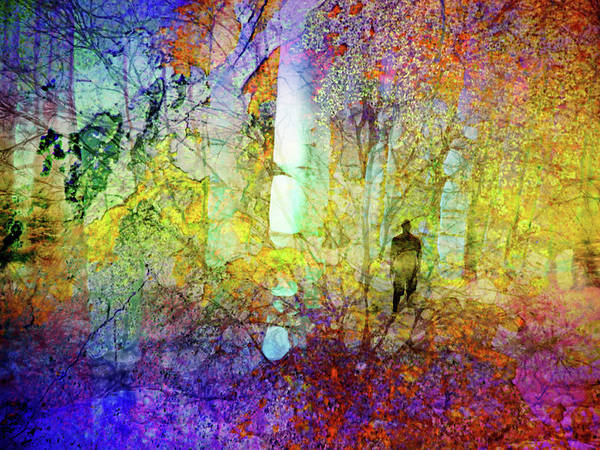 Wall Art - Digital Art - The Forest Inside Of Us by Tara Turner