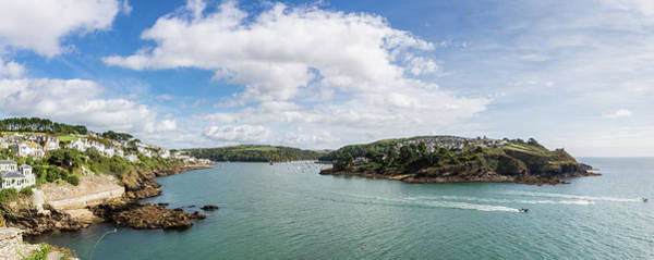 Photograph - The Fowey River Mouth From St Catherine's Castle by Maggie McCall