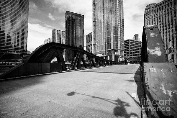 Wall Art - Photograph - The Franklin-orleans Bridge Over The Chicago River Chicago Illinois United States Of America by Joe Fox