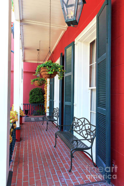 Photograph - The Front Porch New Orleans by John Rizzuto