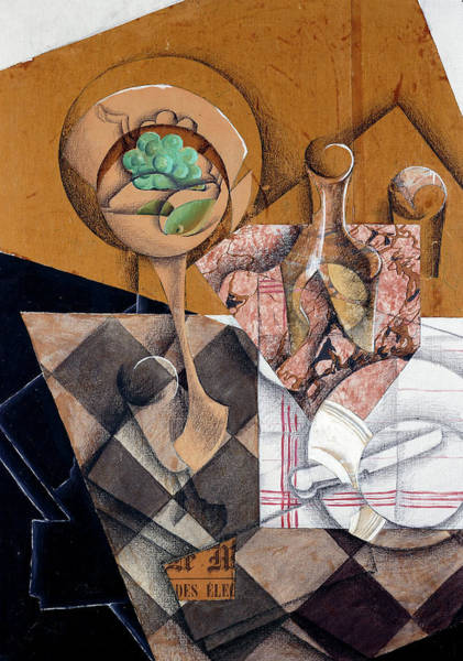 Wall Art - Painting - The Fruit Bowl, 1914 by Juan Gris