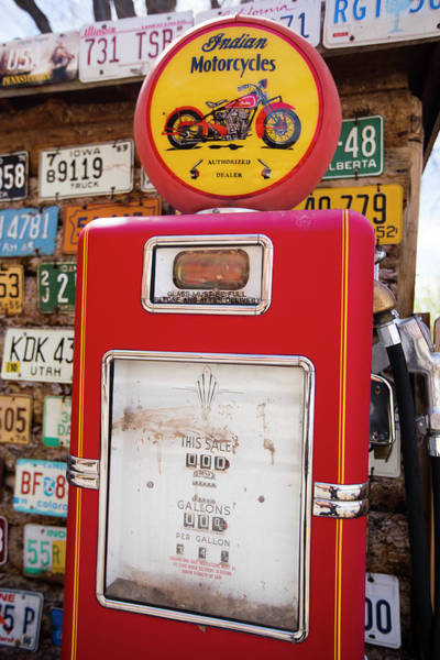 Wall Art - Photograph - The Fuel Pump At Old Gas Station by Panoramic Images