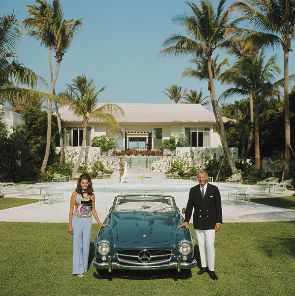 Square Photograph - The Fullers by Slim Aarons