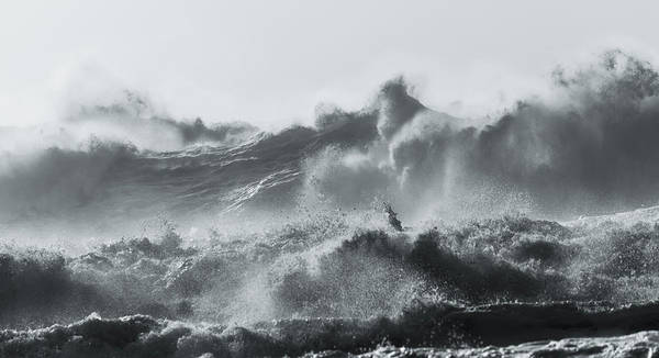 Photograph - The Fury Of The Sea by Alex Lapidus