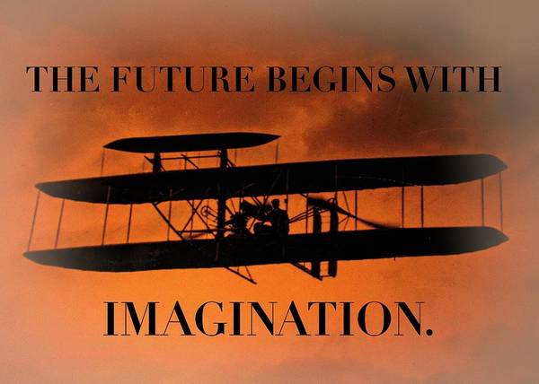 Photograph - The Future Begins With Imagination by Jack Wilson