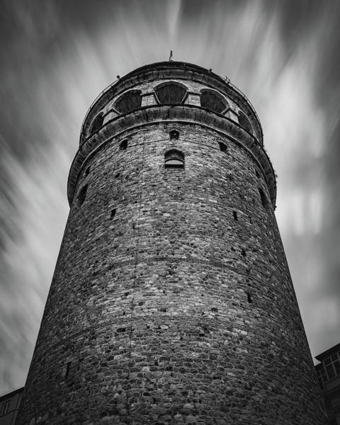 Photograph - The Galata Tower by Suleyman Derekoy