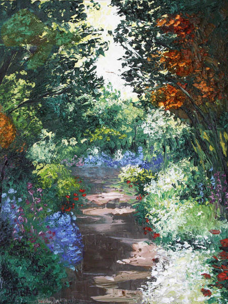 Painting - The Garden by Anthony Falbo