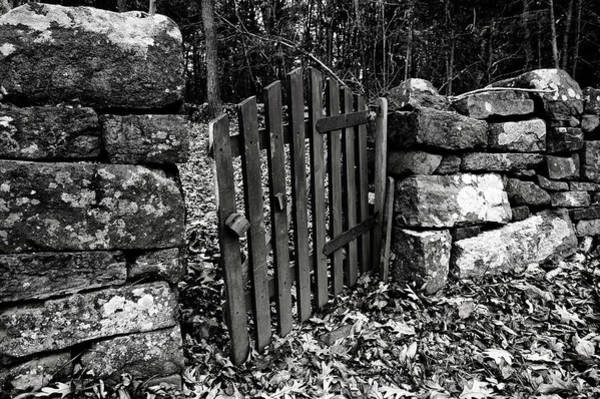 Photograph - The Garden Entrance by Mark Jordan