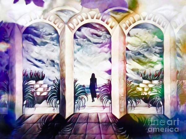 Mansion Mixed Media - The Gates Of Heaven Are Always Open II  by Breena Briggeman