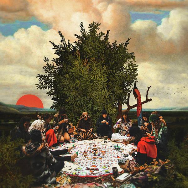 Hippy Digital Art - The Gathering by Fran Rodriguez