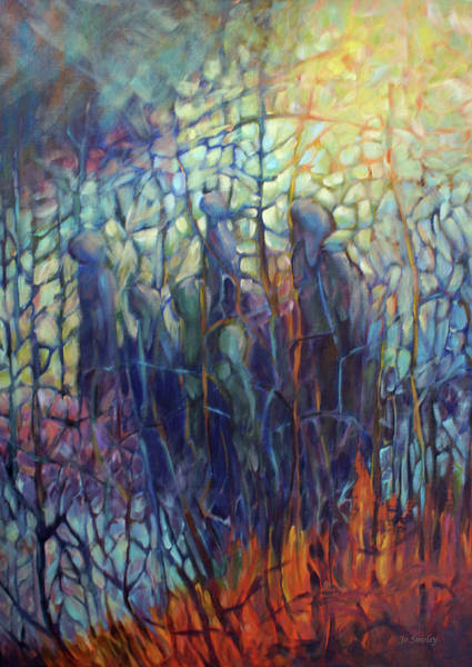 Painting - The Gathering by Joanne Smoley