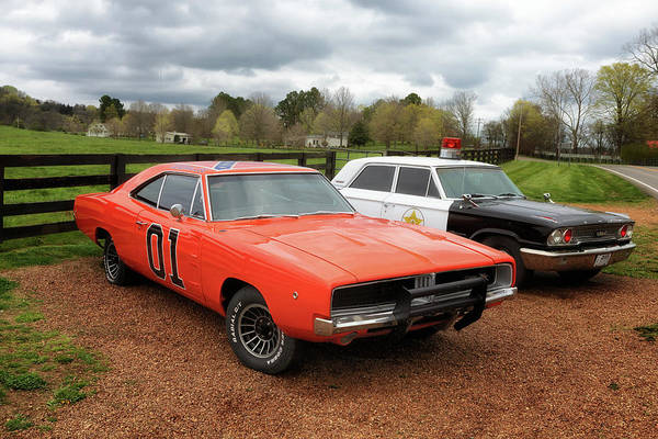 Photograph - The General Lee by Susan Rissi Tregoning