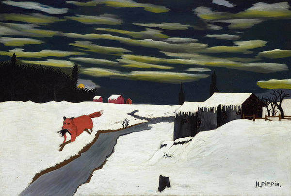 Wall Art - Painting - The Getaway, 1939 by Horace Pippin