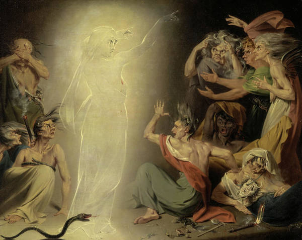 Wall Art - Painting - The Ghost Of Clytemnestra Awakening The Furies, 1781 by John Downman