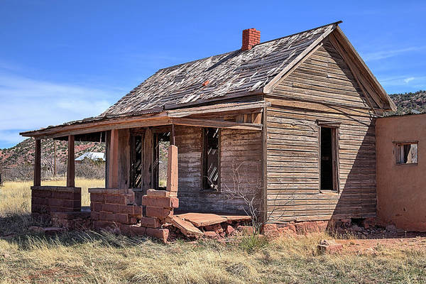 Photograph - The Ghost Town Of Cuervo by JC Findley