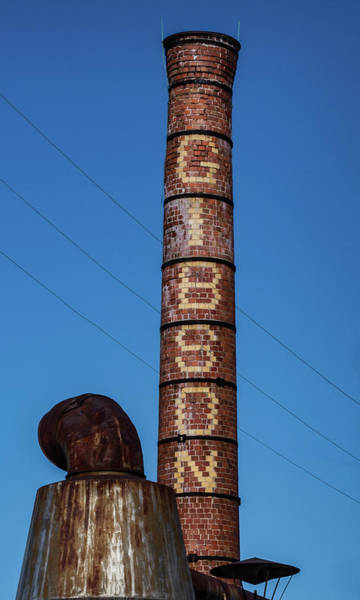 The Gibson Smokestack Art Print