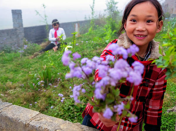 Wall Art - Photograph - The Gift - Sapa, Vietnam by Madeline Ellis