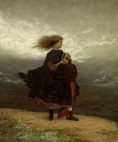 Wall Art - Painting - The Girl I Left Behind Me, 1872 by Eastman Johnson