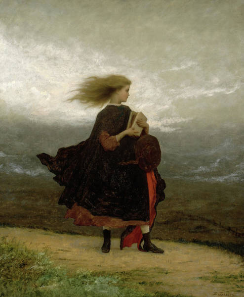 Wall Art - Painting - The Girl I Left Behind Me, 1872 by Jonathan Eastman Johnson