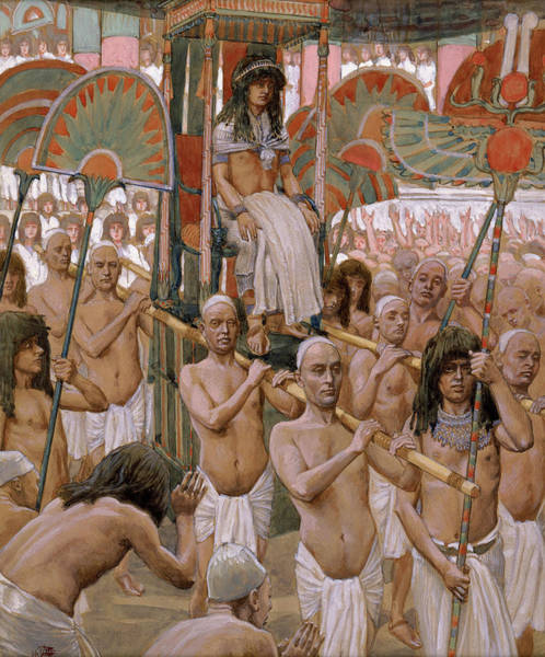 Wall Art - Painting - The Glory Of Joseph, 1902 by James Tissot