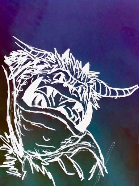 Wall Art - Digital Art - The Goblin King No. 1 by Ian Deterling