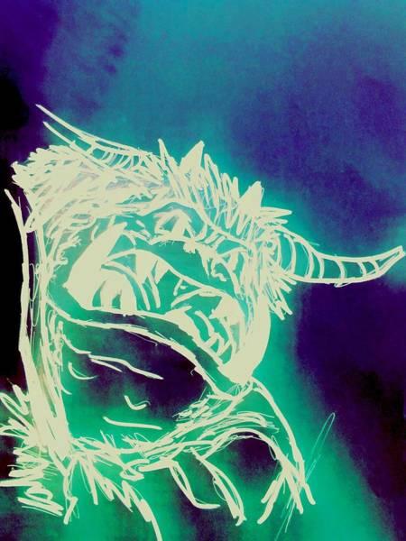 Wall Art - Digital Art - The Goblin King No. 4 by Ian Deterling