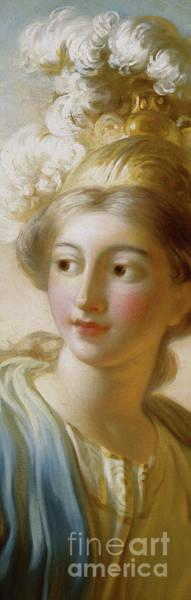 Wall Art - Painting - The Goddess Minerva, Circa 1772 by Jean-Honore Fragonard