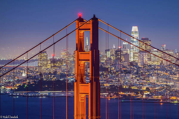 Photograph - The Golden Gate by Mike Ronnebeck