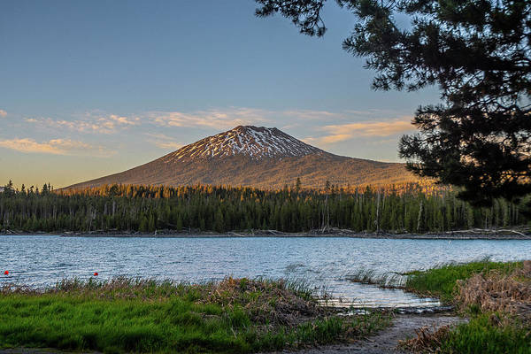 Photograph - The Golden Hour At Lava Lake  by Matthew Irvin