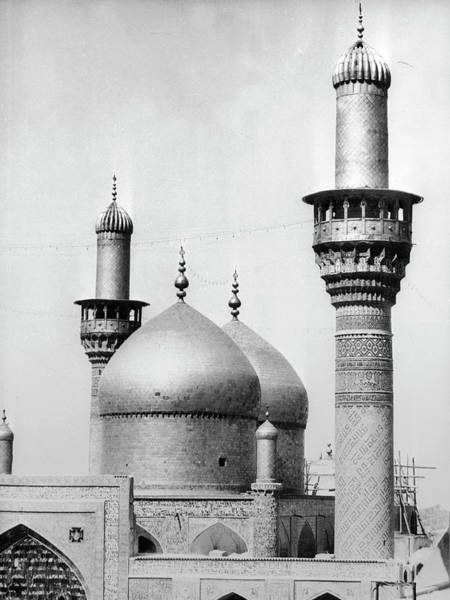 Baghdad Wall Art - Photograph - The Golden Mosque In Baghdad 1960-1961 by Keystone-france