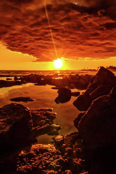 Photograph - The Golden Scene by John Bauer