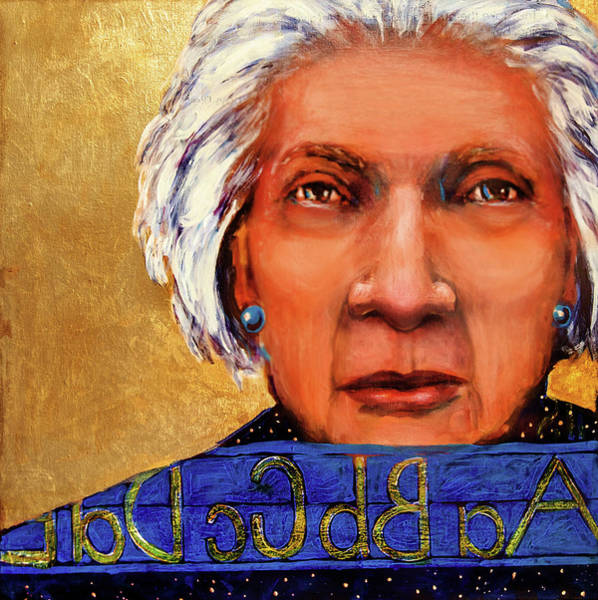 Mixed Media - The Golden Years - Substitute Teacher by Cora Marshall