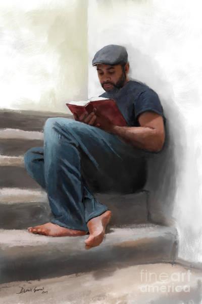 Digital Art - The Good Book by Dwayne Glapion
