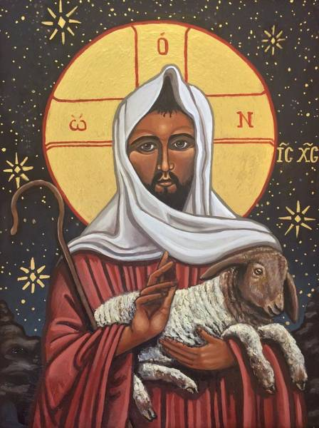 Painting - The Good Shepherd by Kelly Latimore