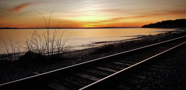 Wall Art - Photograph - The Good Side Of The Tracks by Monte Arnold