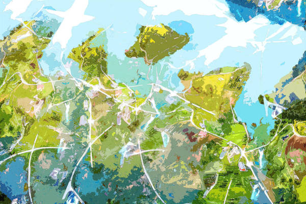 Digital Art - The Good Way by Payet Emmanuel