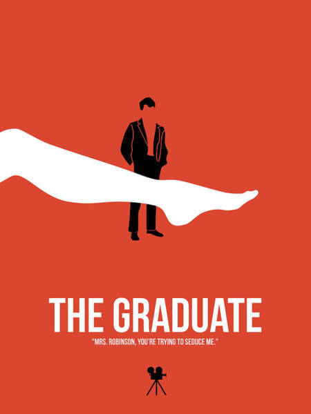 Wall Art - Digital Art - The Graduate by Naxart Studio