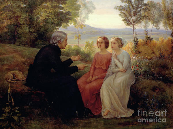 Wall Art - Painting - The Grain Of Wheat by Louis Janmot