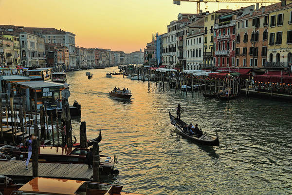 Photograph - The Grand Canal by Mary Buck