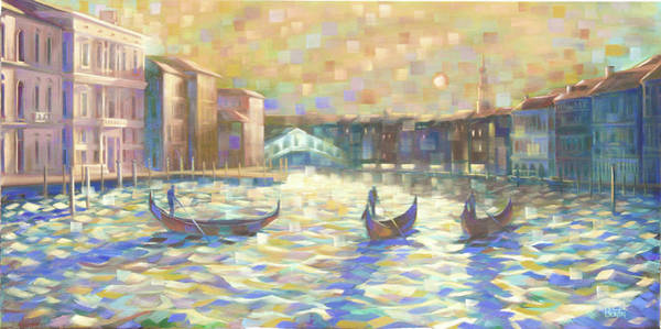 Painting - The Grand Canal by Rob Buntin