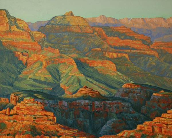 Painting - The Grand Canyon by Cheryl Fecht
