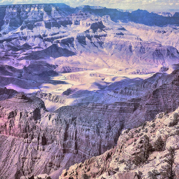 Photograph - The Grand Canyon Circa 1970 by JAMART Photography