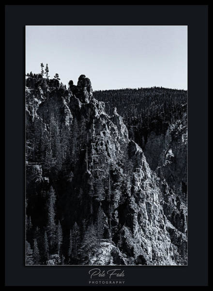Photograph - The Grand Canyon Of The Yellowstone by Pete Federico