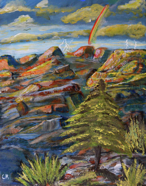 Painting - The Grand Canyon View by Chance Kafka